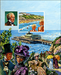 Bournemouth art by Harry Green