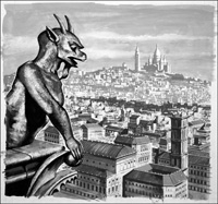 What Is A Gargoyle art by Harry Green