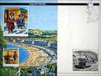 Llandudno - A Day By The Sea art by Harry Green