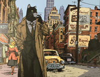 Blacksad, New York Detective by Juanjo Guarnido