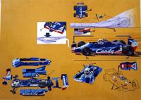 The Winning Formula Grand Prix art by Wilf Hardy