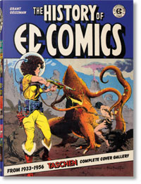 The History of EC Comics from 1933 - 1956