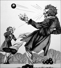 Strange Duels art by Richard Hook