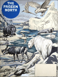 The Frozen North art by Richard Hook