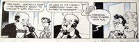 Dot and Carrie daily strip 11492 art by James Francis Horrabin