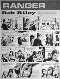 Rob Riley - Art for Arts Sake art by Stanley Houghton