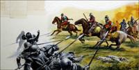 The Battle of Flodden art by Andrew Howat