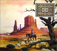 Home for the Navajo art by Andrew Howat
