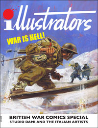 British War Comics: Studio Dami and the Italian Artists (illustrators Special)