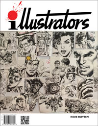 illustrators issue 16 by Pete Stone, Diego Cordoba, David Ashford, Leif Peng; edited by Peter Richardson
