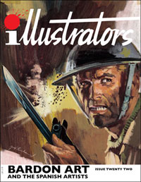 illustrators issue 22 by Diego Cordoba, Barry Coker, foreword by Dave Gibbons