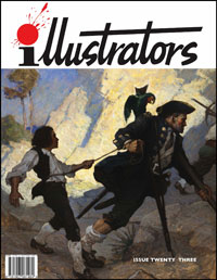 illustrators issue 23 (NC Wyeth, Virgil Finlay, Grahame Johnstones)