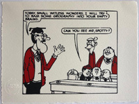 The Bash Street Kids Lark Around art by Beano comic artist