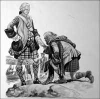 Bonnie Prince Charlie art by Peter Jackson