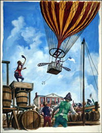 The First Balloons art by Peter Jackson