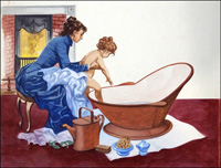 Bath Time art by Peter Jackson