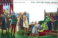 Edward III and the Burghers of Calais art by Peter Jackson
