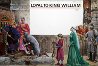 Loyalty To King William art by Peter Jackson