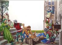 Looting art by Peter Jackson