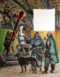 Saint Patrick art by Peter Jackson