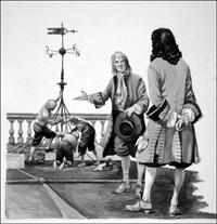 Last of the Stuart Kings art by Peter Jackson