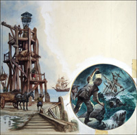 Lighthouses and Wreckers art by Peter Jackson