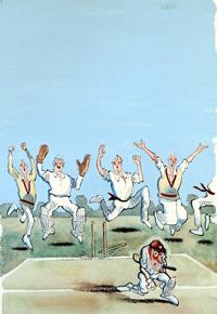 Second Innings cover art art by John Jensen
