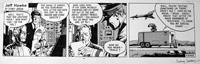 Jeff Hawke daily strip 3468 by Sydney Jordan