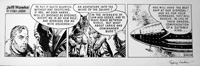 Jeff Hawke daily strip 4034 by Sydney Jordan