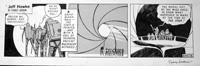 Jeff Hawke daily strip 4578 by Sydney Jordan