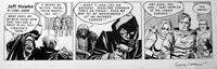 Jeff Hawke daily strip 4684 by Sydney Jordan