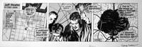 Jeff Hawke daily strip  4945 by Sydney Jordan