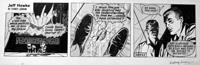 Jeff Hawke daily strip 4953 by Sydney Jordan