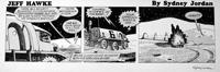 Jeff Hawke daily strip 7176 by Sydney Jordan