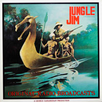Jungle Jim - Original Radio Broadcasts (vinyl record) by Alex Raymond
