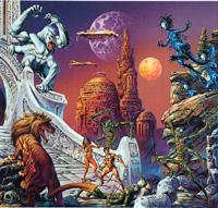 Space Opera art by Joe Jusko