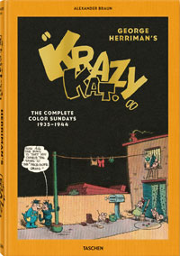 George Herriman's 'Krazy Kat'. The Complete Color Sundays 1935 - 1944