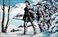 Pierre Radisson in Canada art by Jack Keay