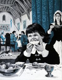 Bertrand du Guesclin art by Jack Keay