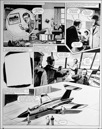 Number 13 Marvel Street - Second Test (TWO pages) art by Bill Lacey