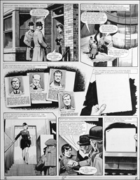Number 13 Marvel Street - Jet (TWO pages) art by Bill Lacey