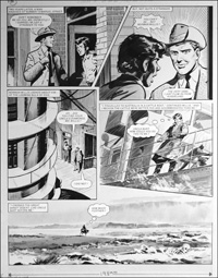 Number 13 Marvel Street - Blacksnake (TWO pages) art by Bill Lacey