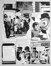 Number 13 Marvel Street - Sub (TWO pages) art by Bill Lacey