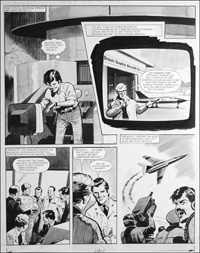 Number 13 Marvel Street - Test Flight (TWO pages) art by Bill Lacey
