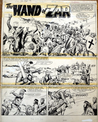 Maroc the Mighty The Hand of Zar 1 art by Don Lawrence