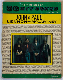 The Third Book of 50 Hit Songs by John Lennon & Paul McCartney