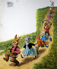 Brer Rabbit All's Well art by Virginio Livraghi