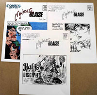 Comics Revue Modesty Blaise Set 1 (3 issues)