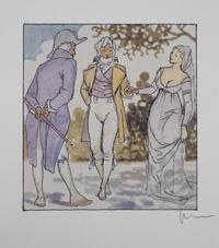 The Aristocracy art by Milo Manara