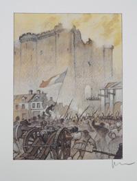 La Bastille: 14th July 1789 art by Milo Manara